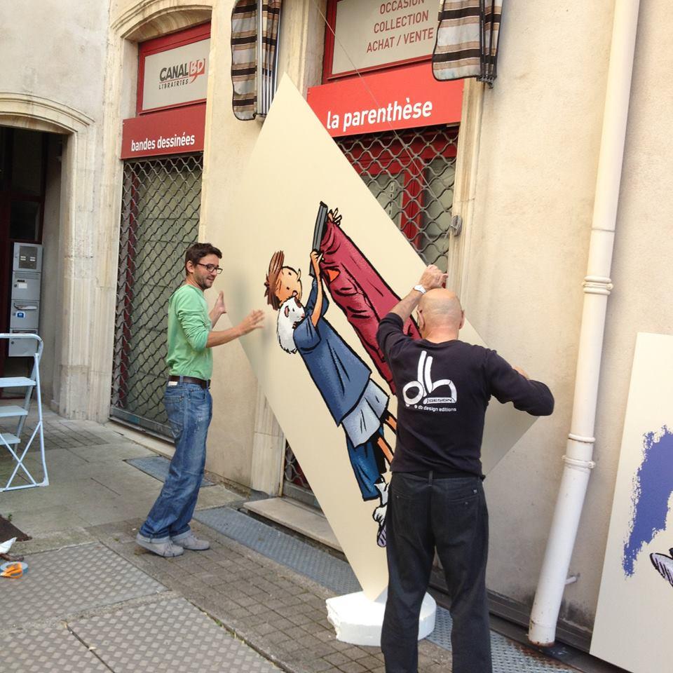 sign'ETIK réalise vos panneaux décoratif en Dibond pour la décoration de votre intérieur ou l'habillage de vos murs et façades !