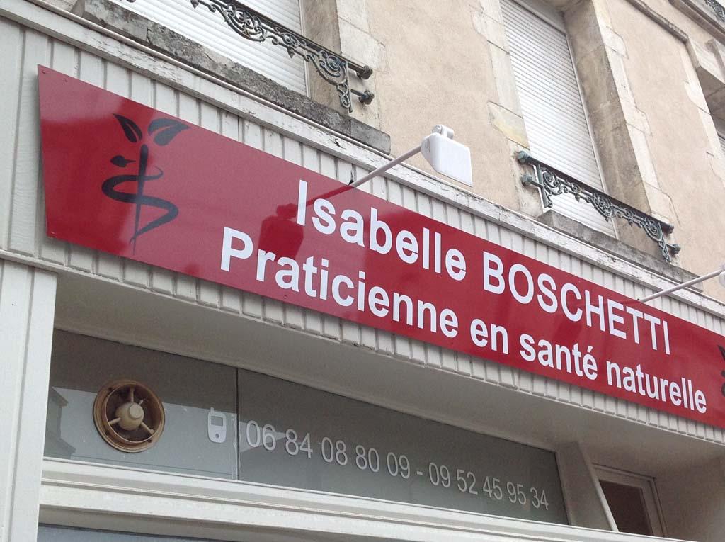Enseigne en Dibond pour commerces et cabinets médicaux à Nancy près de Toul !