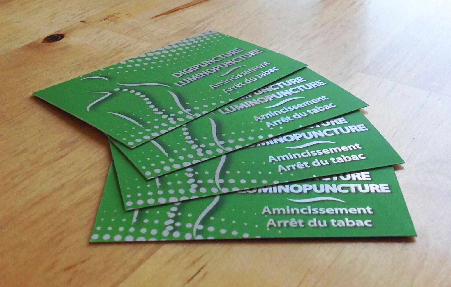 sign'ETIK crée l'identité visuelle du cabinet Luminoform à Nancy 54 en Meurhte et Moselle. Nous créons les cartes de visite et les flyers personnalisés