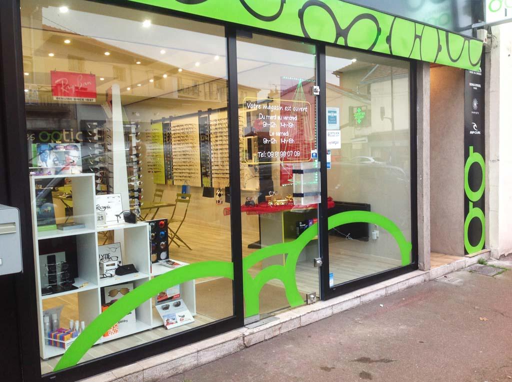 Décoration adhésive sur vitrine pour boutiques, agences et devantures commerciales à Nancy !