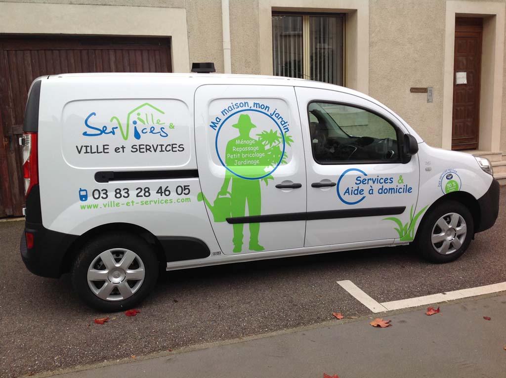 Flocage de véhicules pour associations et entreprises à Nancy !