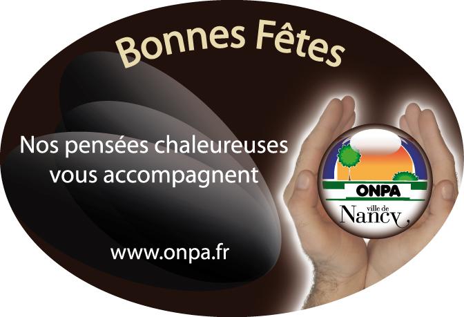 Etiquettes adhésive PVC en bobine réalisées pour l'ONPA de la Ville de Nancy 54 en Meurthe et Moselle