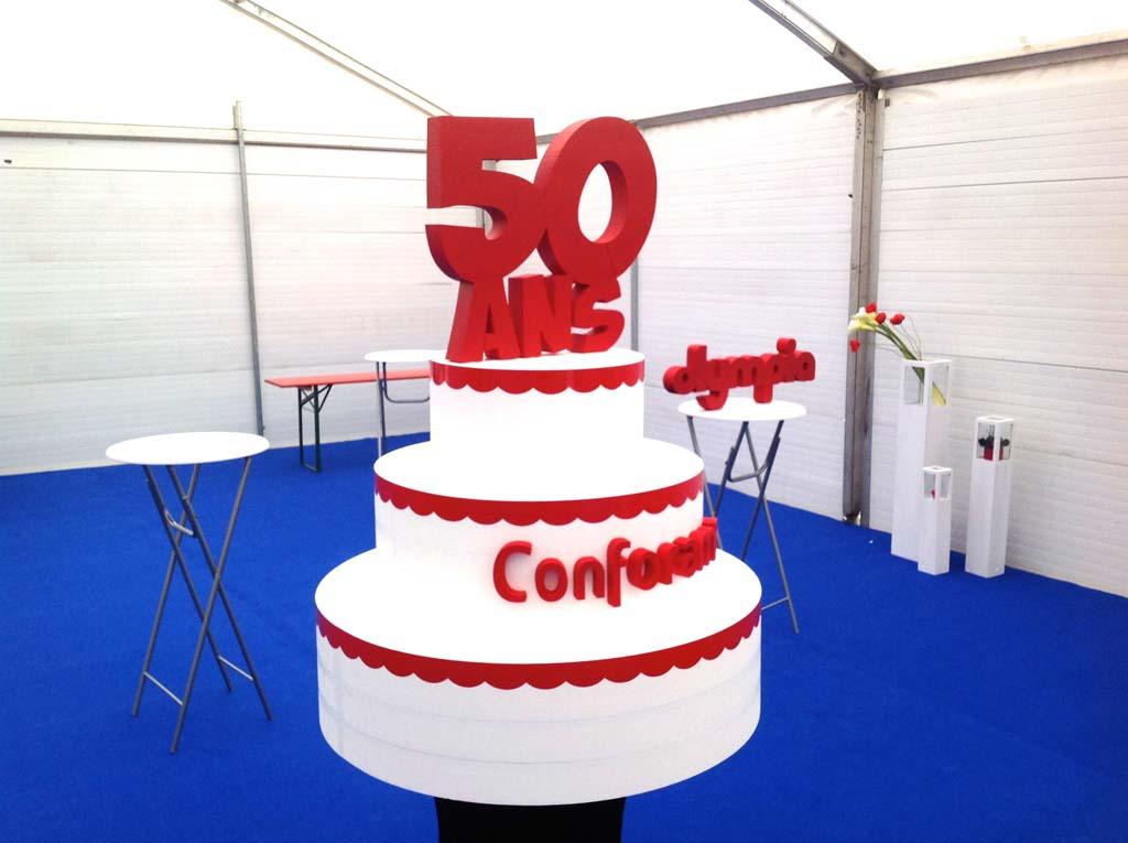 sign'ETIK - Découpe de formes et de volumes en polystyrène pour la réalisation de décors pour évènementiels, mariages, opérations commerciales à Nancy