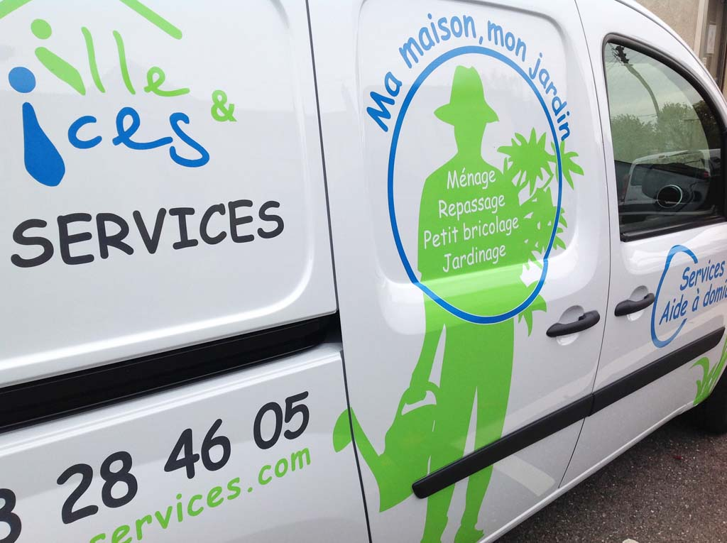 Décoration de et personnalisation de véhicules en adhésif sur Nancy !
