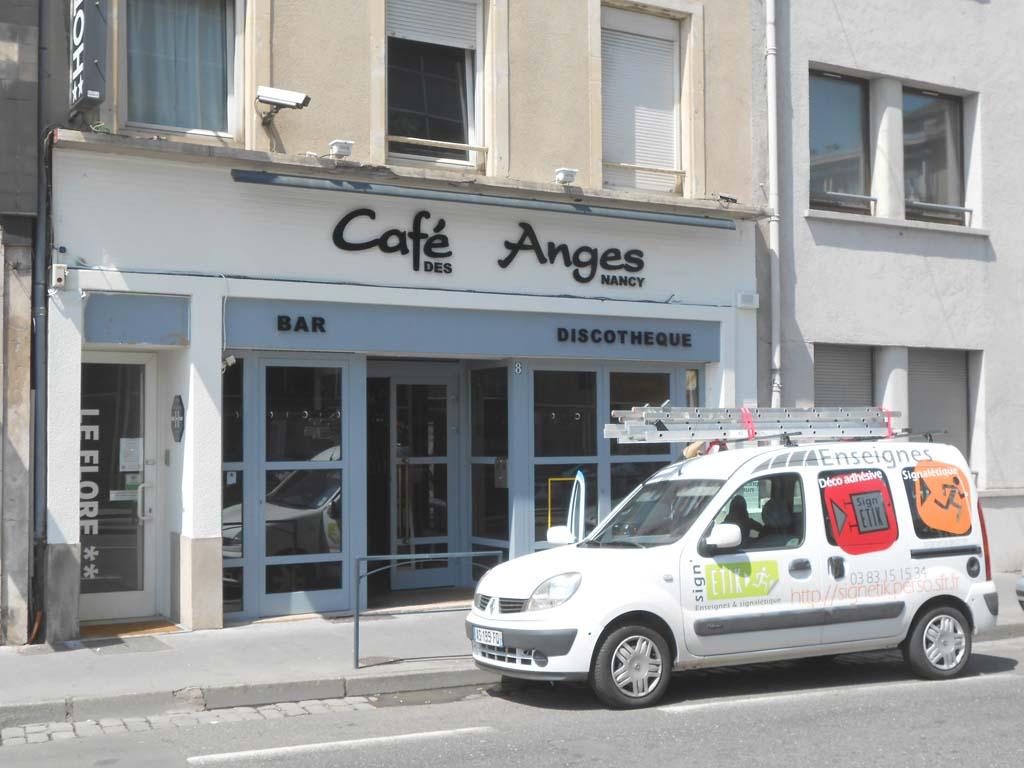 Sign'ETIK fabrique des enseignes pour les bars, les commerces, les restaurants et les commerces en ville à Nancy 54