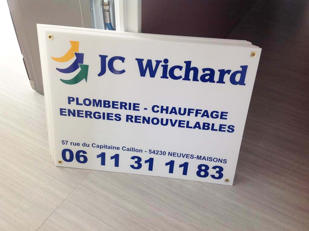 sign'ETIK crée des panneaux de chantier en akylux, pvc ou aluminium pour les professionnels du bâtiment, de l'immobilier et des commerciaux sur la région lorraine à Nancy et Toul