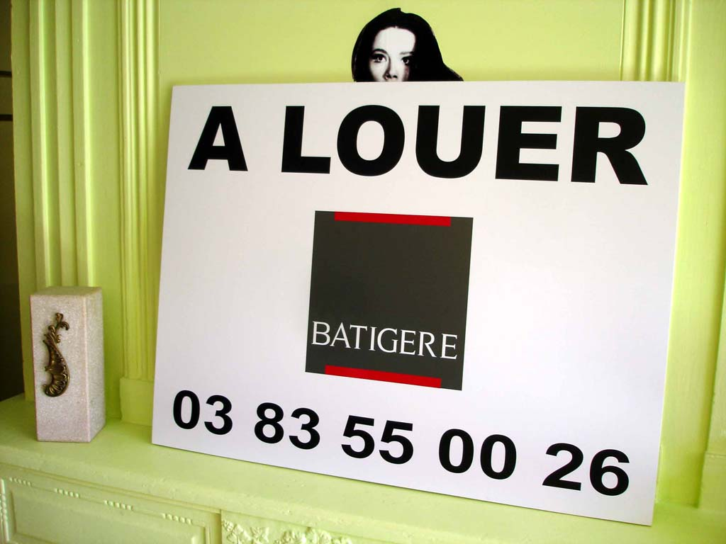 Impression de panneaux immobilier à accrocher pour le Groupe Batigère à Nancy et Heillecourt 54180