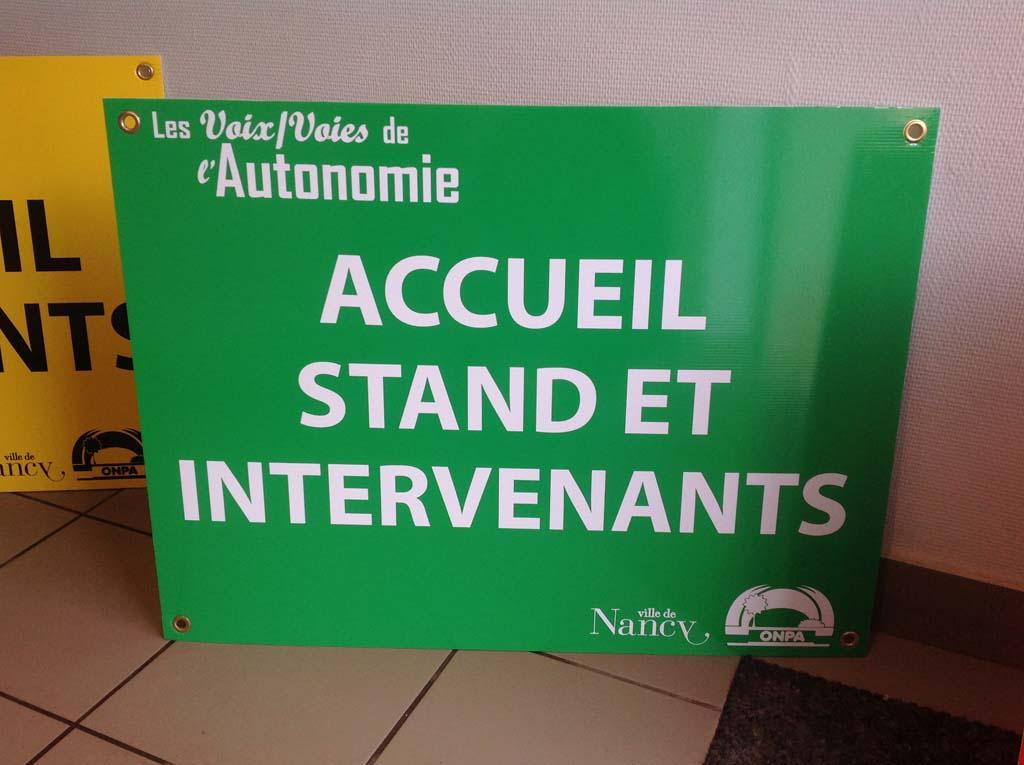 Panneau immobilier, à vendre, de chantier, à louer pour agences immobilières en Meurthe et Moselle près de Nancy et Vandoeuvre