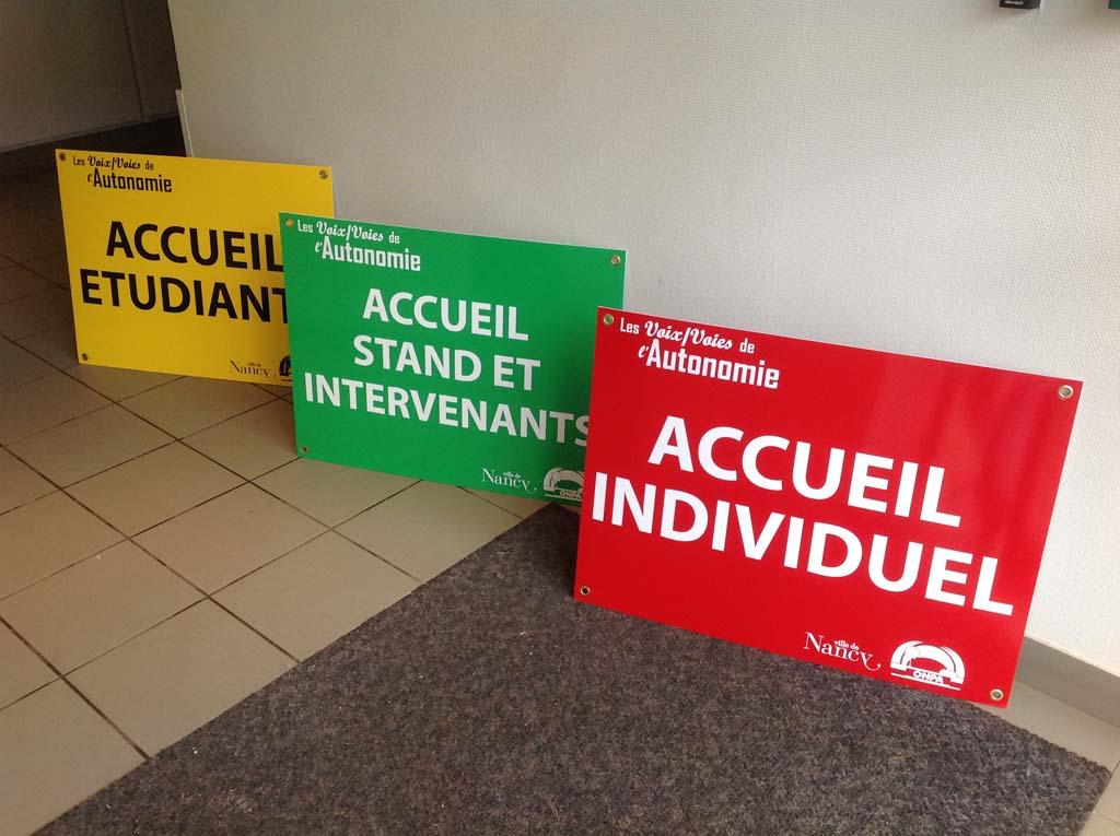 Décors et signalétique pour évènementiel, exposition, salons et conférences à Nancy en Lorraine !